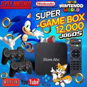 Retro Box - Video Game Retro Com 12.000 Com 4 Controles 64gb