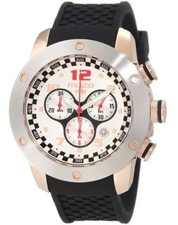 Reloj Mulco Para Hombre Mw2-6313-021 Prix Suizo De Cuarzo