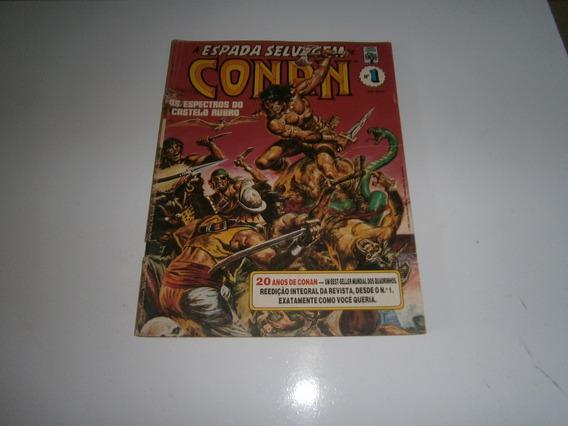 Conan - A Espada Selvagem Nº 1 Raro E Antigo
