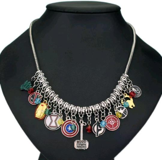 Collar Superhéroes-dijes Intercambiables-unisex