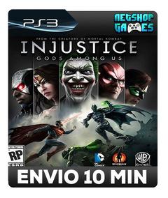 Injustice: Gods Among Us Ultimate - Psn Ps3 - Envio Imediato