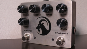 Pedal Dmt Dracarys Distortion C/ Clean Boost