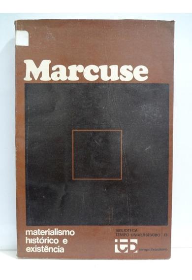 Livro Materialismo Histórico E Existência Herbert Marcuse