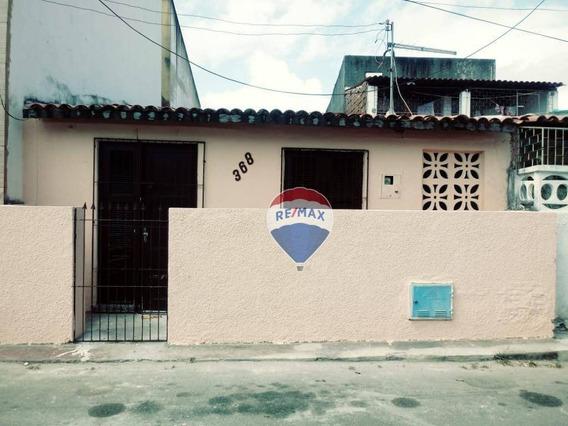 Casa Com 1 Dormitório Para Alugar, 42 M² Por R$ 650/mês - Cidade 2000 - Fortaleza/ce - Ca0062