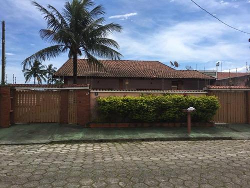(ref:3210) Casa 50 Metros Do Mar- Itanhaém/sp - São Fernando