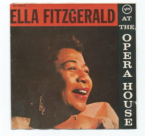 Cd Ella Fitzgerald At Opera House 1957
