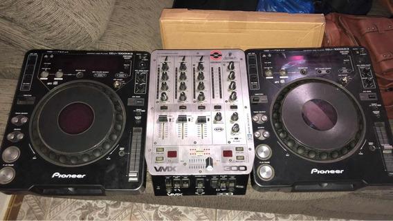 Cdj1000-mk3 Com Mixer