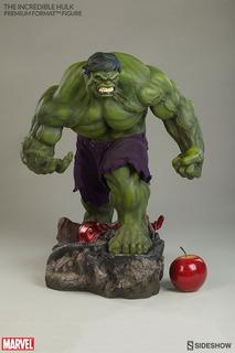 Hulk Premium Format Sideshow 1/4 Iron Man Capitán América