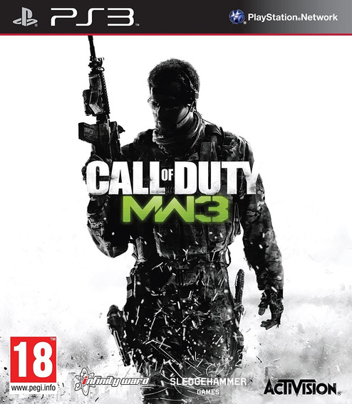 Call Of Duty Modern Warfare 3 Original Ps3 Midia Fisica