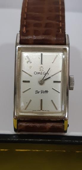 Relógio Ômega De Ville Vintage Feminino A Corda