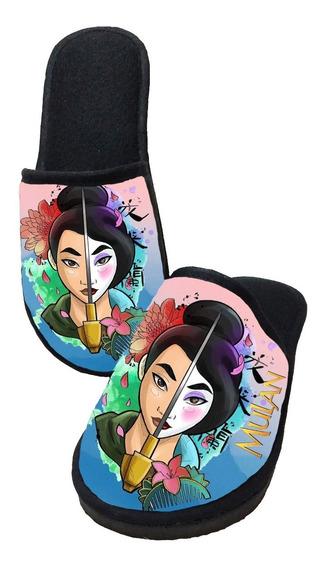 Pantufa Princesa Mulan - Personalizada