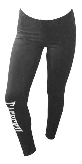 Calza Deportiva Everlast Termica Mujer Legging Gym - Olivos
