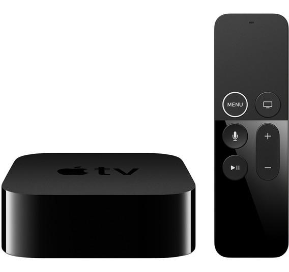 Apple Tv 4th Geacao A1625 Full Siri Hd 32gb Preto Seminovo