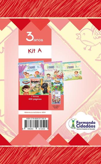 Livro Formando Cidadãos Kit A 3 Anos
