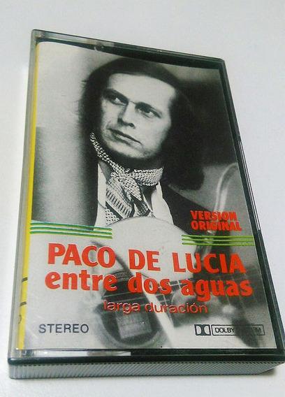 Casette Paco De Lucia Entre Dos Aguas Sin Uso