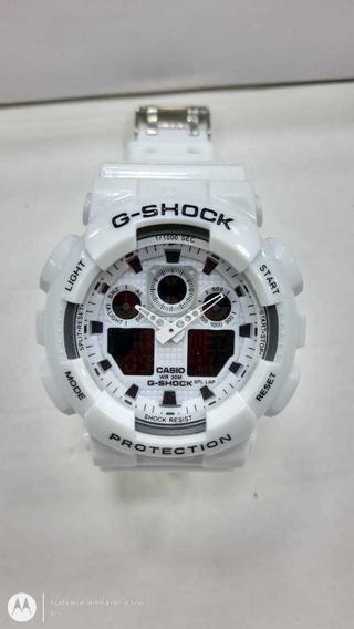 Relógio Masculino G A 100 Prova D Agua + Caixinha 1/ Unidade