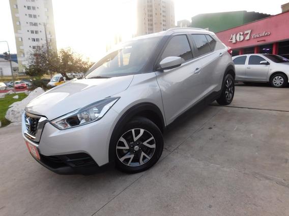 Nissan Kicks 1.6 S Automatica 2018 Prata