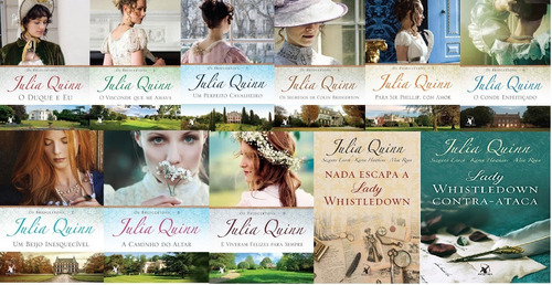 Kit 11 Livros Os Bridgertons Julia Quinn + Lady Whistledown