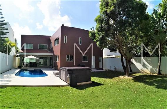 Renta Casa Semi Amueblada En Villa Magna Cancun