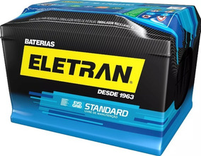 Bateria De Carro 60 Amperes - 1 Ano De Garantia (base Troca)