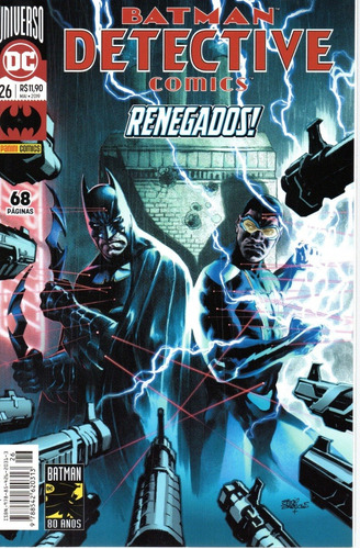 Detective Comics 26 - Panini - Bonellihq Cx149 K19