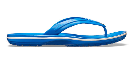 Sandalia Crocs Unisex Adulto Crocband Flip Azul Cobalto