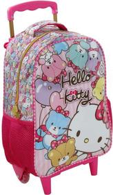 Mala Mochila De Rodinha Hello Kitty Xeryus Infantil 7861