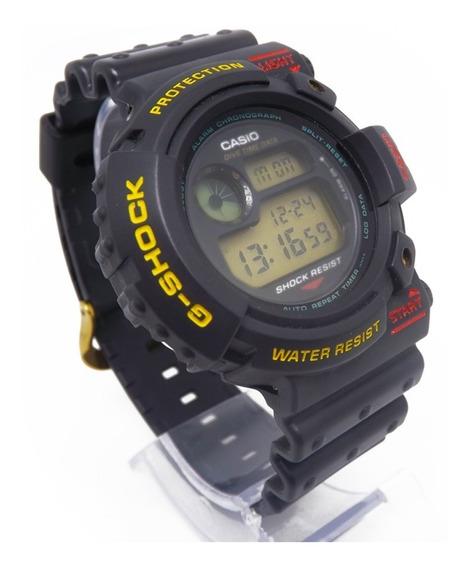 Raro Relógio Casio G-shock Dw-6300 1º Frogman 1993 Coleção