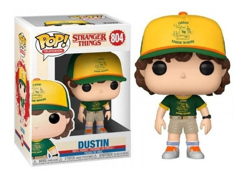 Funko Pop Stranger Things Dustin Modelo 804 Nuevo