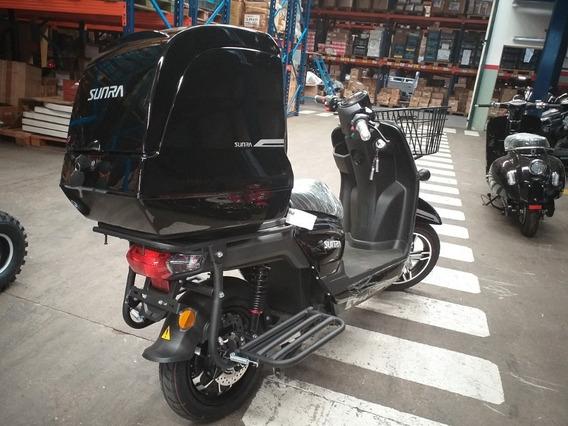 Scooter Electric Delivery Sunra Caguu Litio 20 Ah Ciclomotor