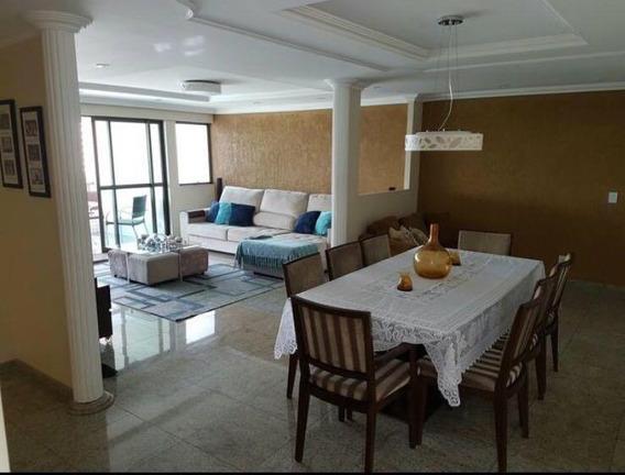 Apartamento Com 4 Dormitórios À Venda, 208 M² Por R$ 1.580.000 - Casa Forte - Recife/pe - Ap7969