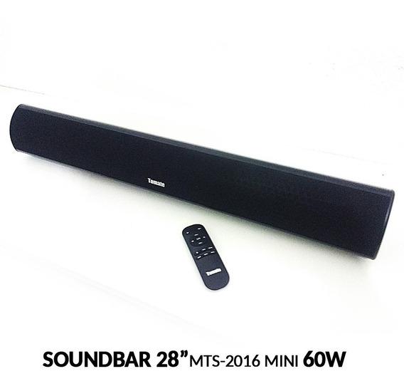 Caixa Som Soundbar Tomate Bluetooth Mts-2016 Mini 28 Pol 60w
