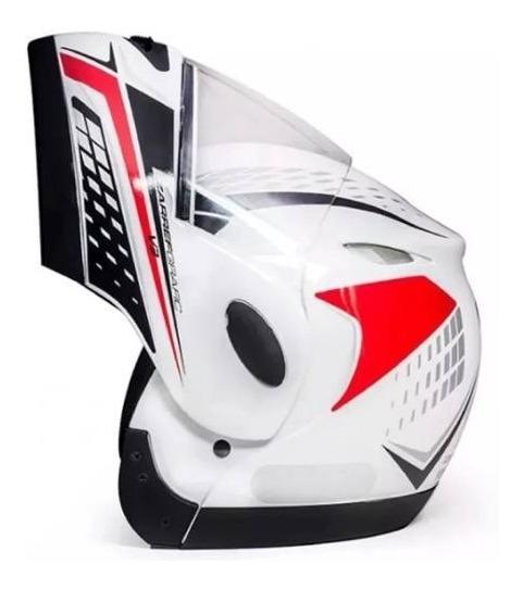 Capacete Articulado Moto Robocop Taurus Zarref V3 Modular