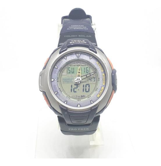 Relógio Casio Protrek Prg-60 Bússola-altímetro-barómetro