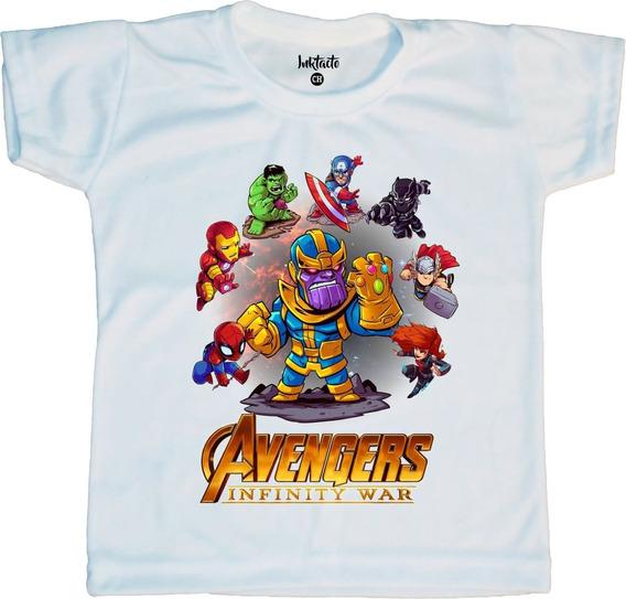 Playera Sublimada Niño Avengers Infinity War