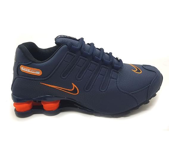 Tênis Masculino Nike Shhox Nz Caminhada Frete Grátis