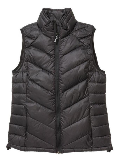 Mujer Ropa Caterpillar Classic Down Vest (121) Pitch Black