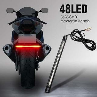 Lanterna Led Seta Integrado Moto Chopper Custom Bobber