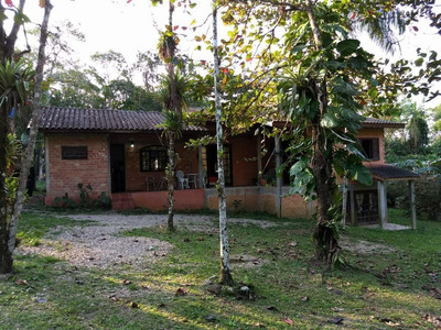 Chácara Rural Para Locação, Rio Sagrado, Morretes. - Ch0087