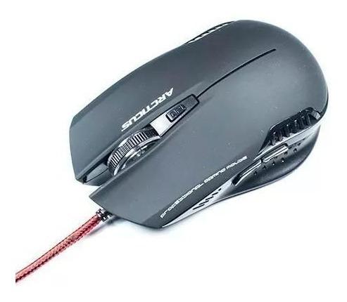 Mouse Gamer Profissional 3000 Dpi 6 Botões Arcticus Am3000