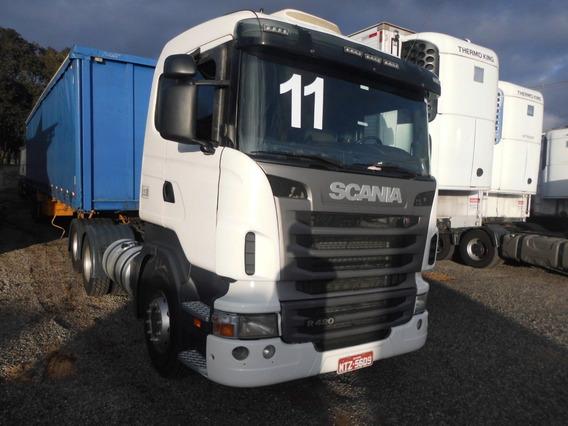 Scania R 124 420 6x2