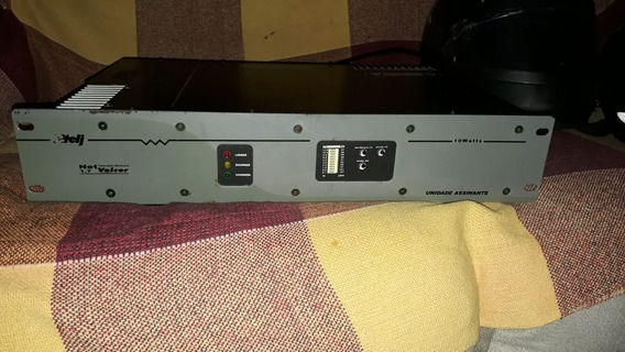 Etelj Net Voicer 10w Radio Monocanal Rural 1,7 Assinante