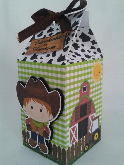 Caixa Milk Lembrancinhas Personalizados 3d