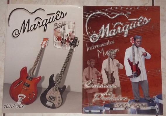 Catálogos De Instrumentos Musicais - Marquês