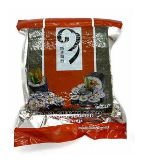Alga Nori Para Sushi X 100 Hojas