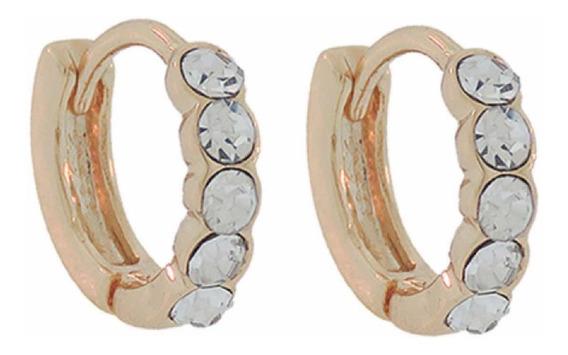 Piercing Helix Argolinhas Cartilagem Orelha 6mm Banhado