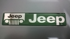 Emblema Jeep Renegade Compass Cherokee