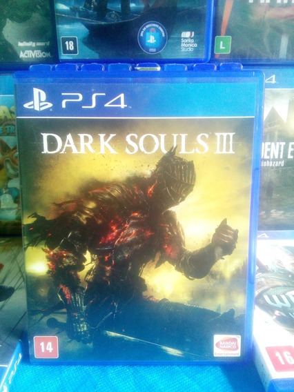 Jogo Dark Souls 3 Ps4 Playstation 4 Original Mídia Física