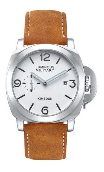 Relógio Masculino Luminous Military Crrju Presente De Natal