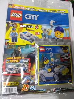 Revista Lego City No. 8 Policia Y Patrulla